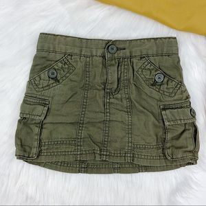 THE CHILDREN'S PLACE Girl's Army Green Skort 5